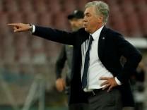 Carlo Ancelotti, Trainer des SSC Neapel