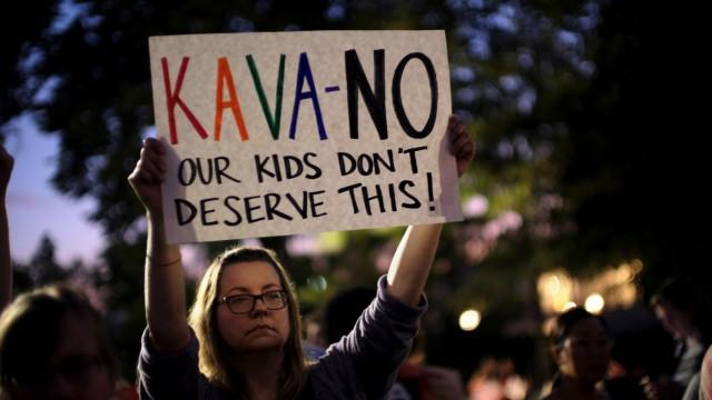 Proteste gegen die Berufung von Brett Kavanaugh an den Supreme Court