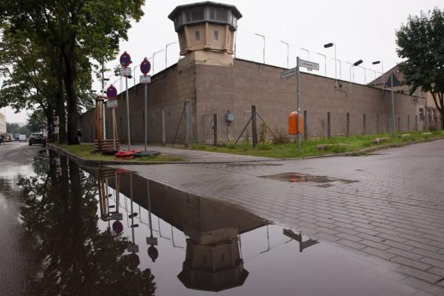 Merkel Visits Former East German Prison