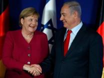 Angela Merkel mit Israels Premier Benjamin Netanjahu
