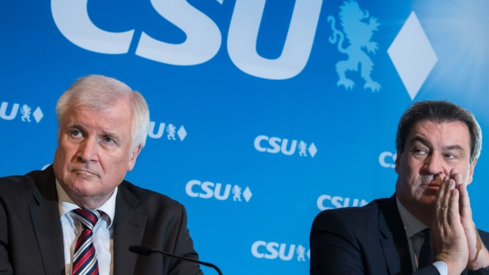 CSU - Seehofer und Söder