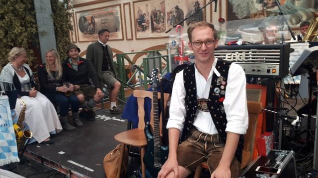 Xaver Peisl spielt zur Wiesn immer in der Kapelle im Hofbräuzelt mit
