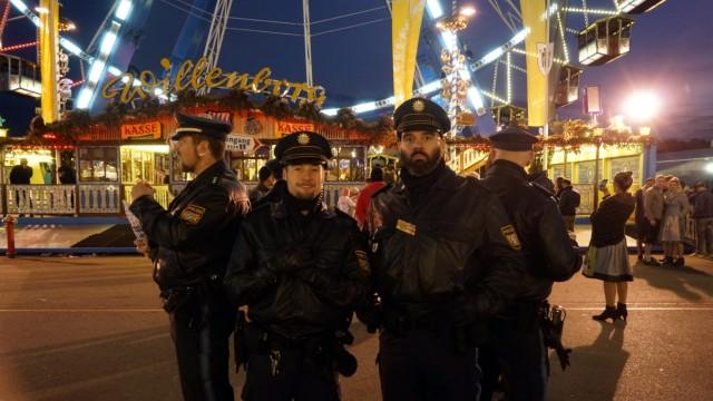 Oktoberfest Polizei auf dem Oktoberfest