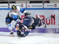 Ice hockey Eishockey DEL RB Muenchen vs Ingolstadt MUNICH GERMANY 07 OCT 18 ICE HOCKEY DEL