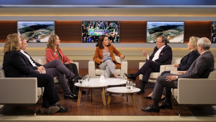 "Sendung ""Anne Will"" zum Hambacher Forst"