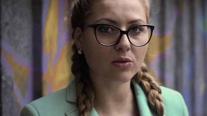 Die bulgarische TV-Moderatorin Viktoria Marinowa