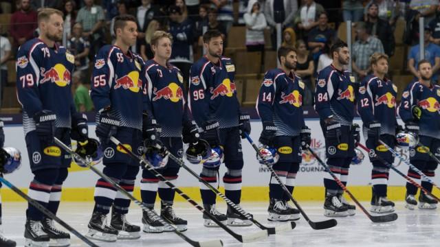 Ice hockey Eishockey Red Bulls Salute RB Muenchen vs Bern GARMISCH PARTENKRICHEN GERMANY 17 AUG; Eishockey