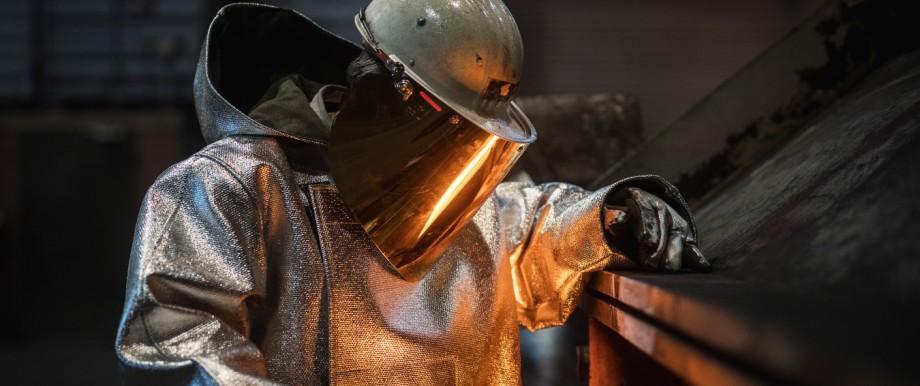 Steel Production At ThyssenKrupp Duisburg