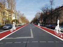 Antrag Radstreifen  Nymphenburger Straße