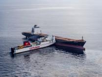 Containerschiffkollision Korsika Treibstoff Meer
