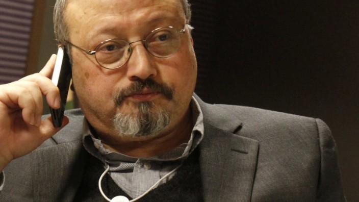 Der Journalist Jamal Khashoggi 2011 in der Schweiz