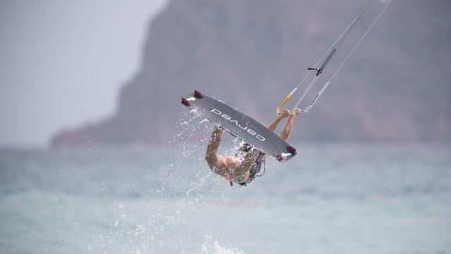 Kitesurfen Sport-Talent