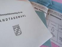 Landtagswahl und Bezirkstagswahl in Bayern