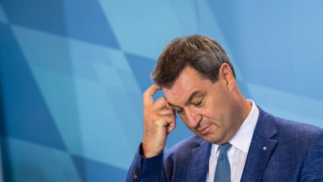 Die CSU stürzt bei der Landtagswahl ab: Der bayerische Ministerpräsident Markus Söder.