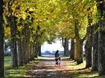 Starnberg, im Park bei der Undosa