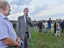 Weßling Hochstadt, Demo gegen Awista