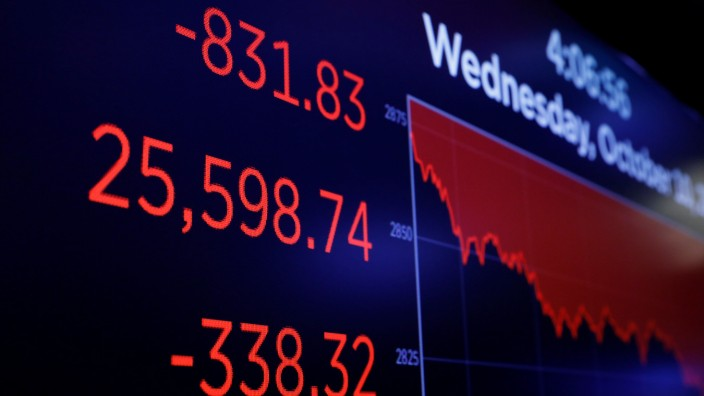 US Börse Dow Jones Kursverlust Trump