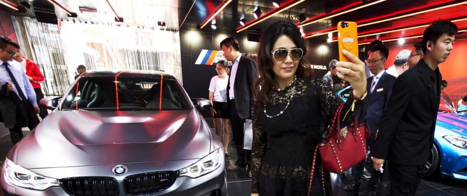 BMW auf der China Auto Show