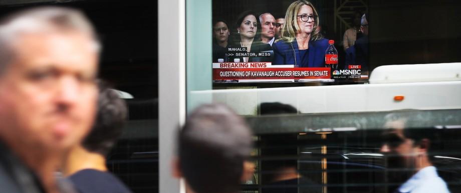 Landmark Senate Hearing Over Brett Kavanaugh's Supreme Court Nomination Viewed Around The Country