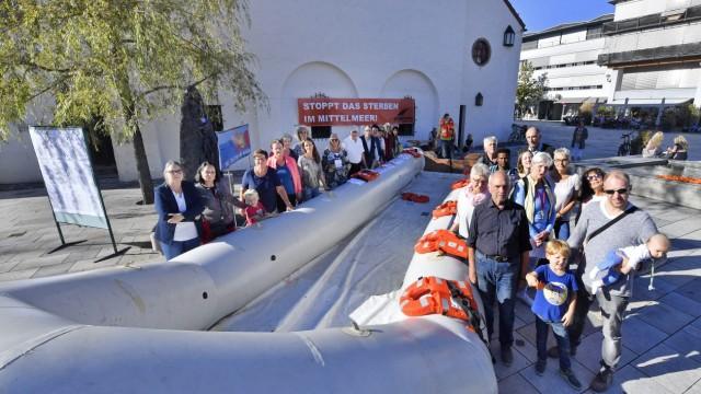 Starnberg Mahnwache Seenotrettung