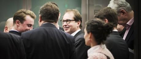 Alexander Dobrindt Vorsitzender der CSU Landesgruppe im Deutschen Bundestag aufgenommen im Fahrstu