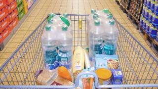 Konsum und Handel Russischer Supermarkt