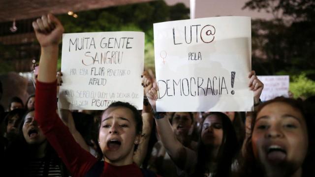 Brasilien - Proteste nach der Wahl