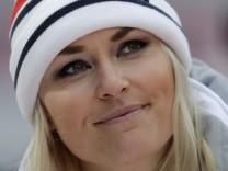 Skirennfahrerin Lindsey Vonn