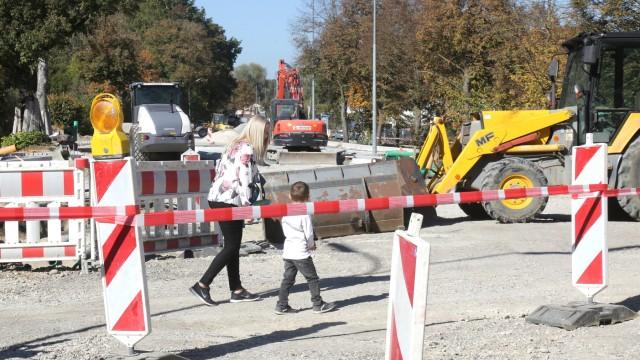 Fahrenzhausen Sanierung der Bundesstraße 13