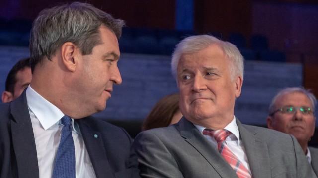 Horst Seehofer Markus Söder CSU