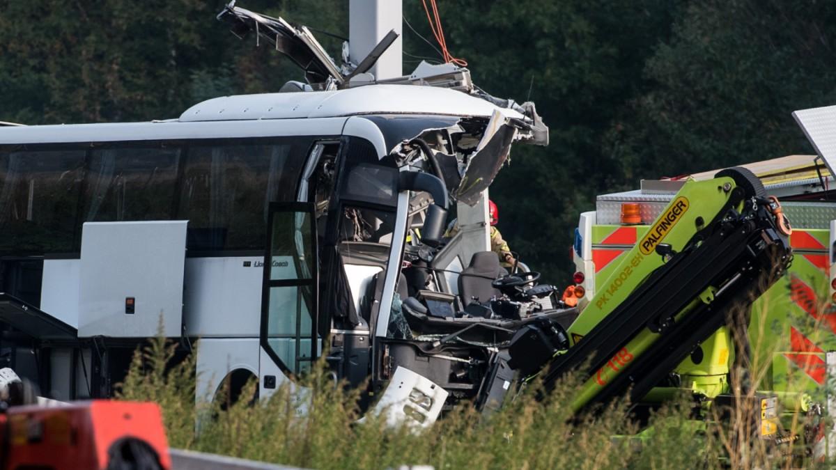 27-jährige Deutsche bei Reisebus-Unfall in der Schweiz gestorben