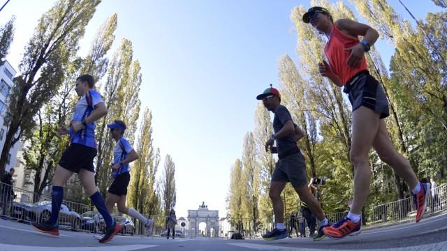 Freizeit in München und Bayern Marathon