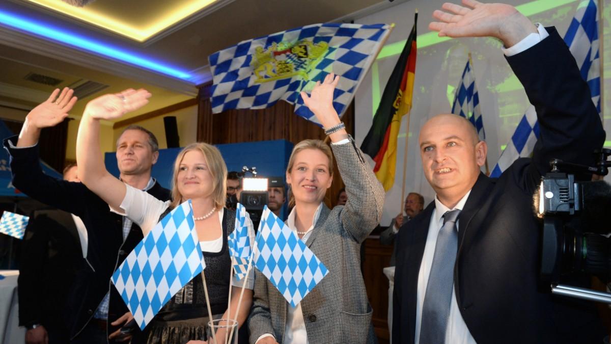 Bayern: AfD zieht in Landtag ein