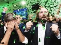 Landtagswahl Bayern - Gr¸ne
