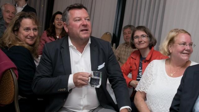Landtagswahl, Wahlparty Josef Schmid, Allach