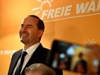 Landtagswahl Bayern - Wahlparty Freie Wähler
