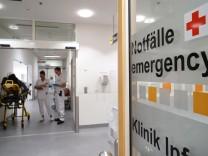 Notaufnahme im Klinikum Bogenhausen, 2018