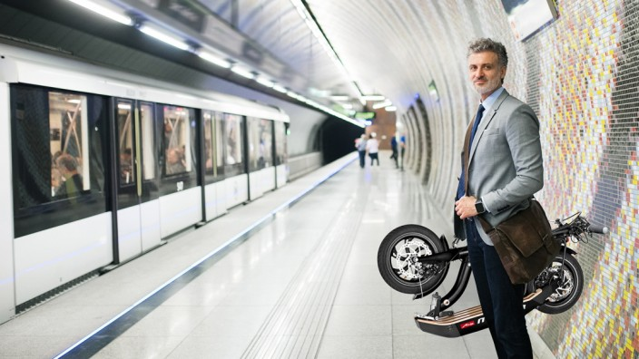 Meetz Moover Roller Tretroller
