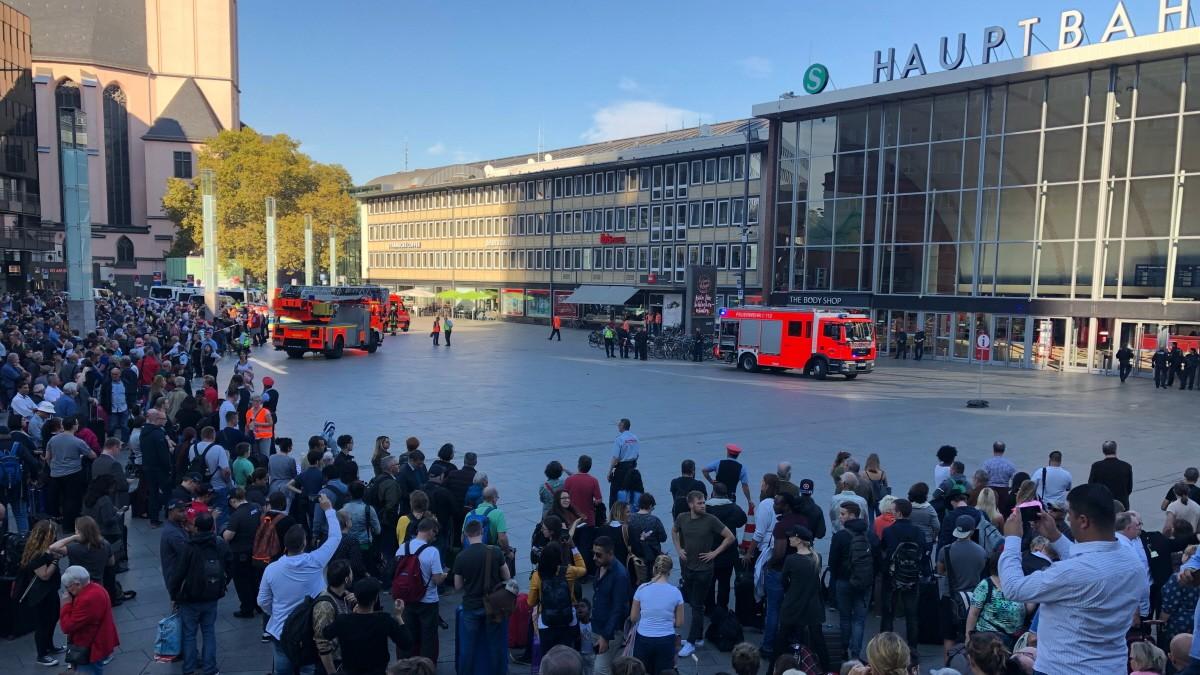 Polizei beendet Geiselnahme am Kölner Hauptbahnhof