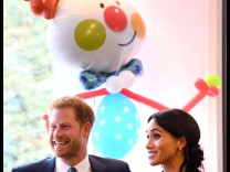 04 09 2018 London United Kingdom Duke and Duchess of Sussex attend WellChild Awards The Duke