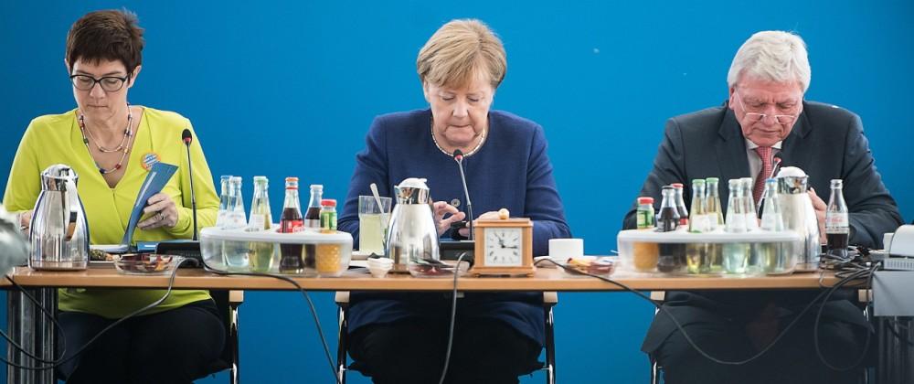 Nach der Landtagswahl in Bayern - CDU