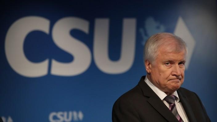 Seehofer CSU Parteichef Ablösung Landtagswahl Bayern
