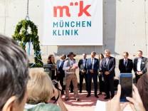 Richtfest der München Klinik in Schwabing, München, am 16.10.2018.