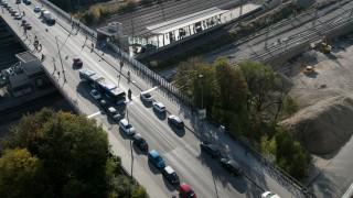 Friedenheimer Brücke von oben