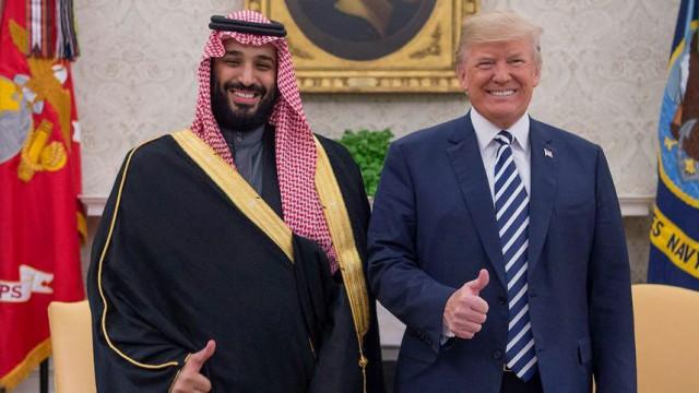 Saudischer Kronprinz bei Trump