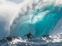 Surfer vor Hawaii