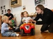 Elternzeit, Vater, Kind, Georg Moritz