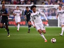 Leroy Sane im Nations-League-Spiel gegen Frankreich