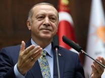 Der türkische Präsident Erdogan 2018 in Ankara