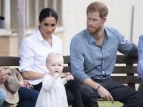 Prinz Harry und Meghan in Australien